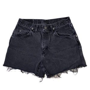 Vintage Wrangler High Waisted Mom Jean Shorts